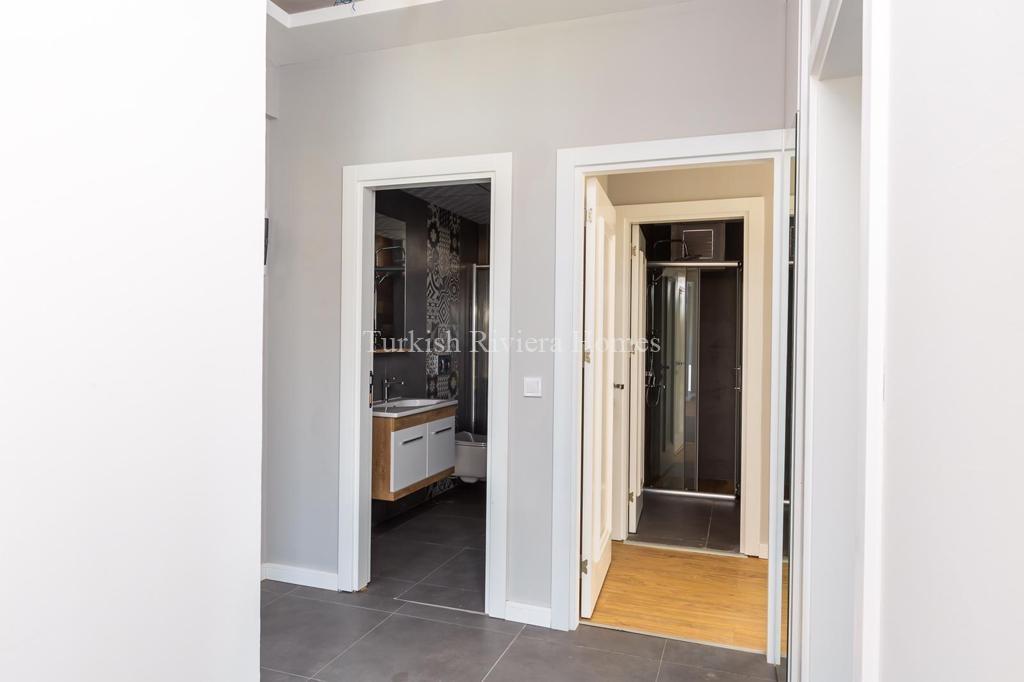 Modern Lifestyle Apartment in Kemer Town of Antalya-Corridors