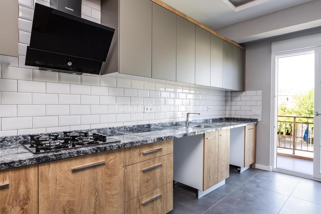 Modern Lifestyle Apartment in Kemer Town of Antalya-Kitchen