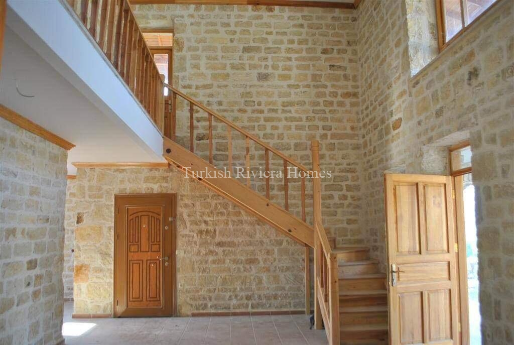 Modern Stone Built Private Villa for sale in Side - Drawing