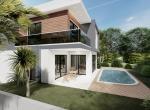 Contemporary Villa for Sale in Döşemealti Antalya