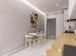 Luxurious Apartments Close to Goksu River, Antalya-Kitchen-Dinning